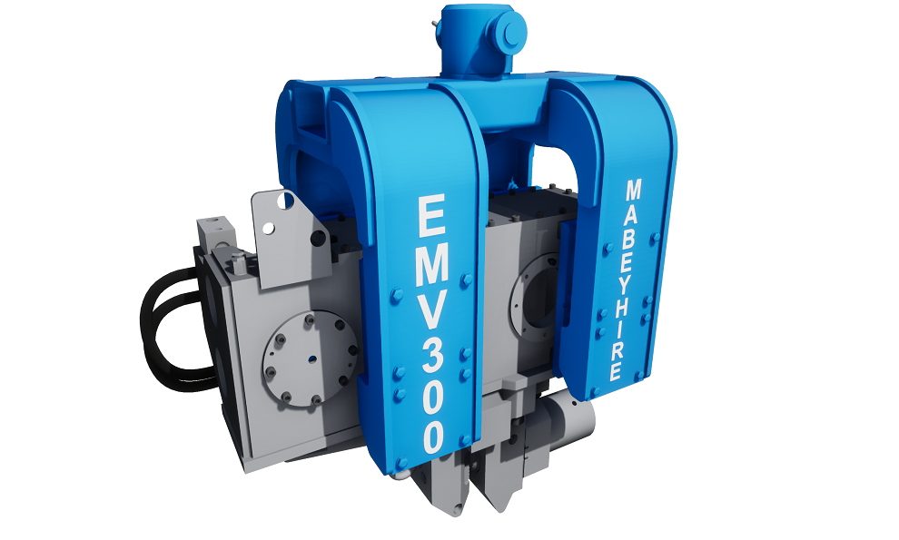 Excavated Mounted Vibrator (EMV) CGI