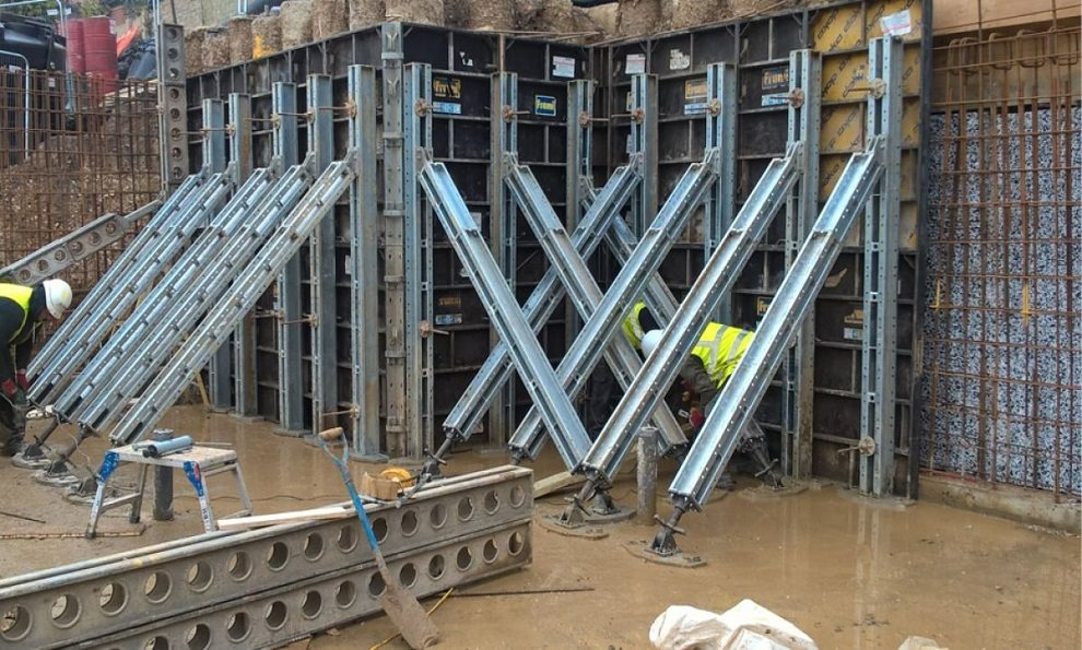 Falsework Frami panels